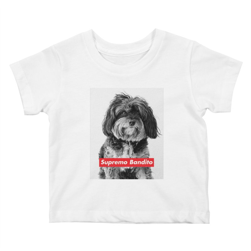 Supremo Bandito Kids Baby T-Shirt by nikson's Artist Shop