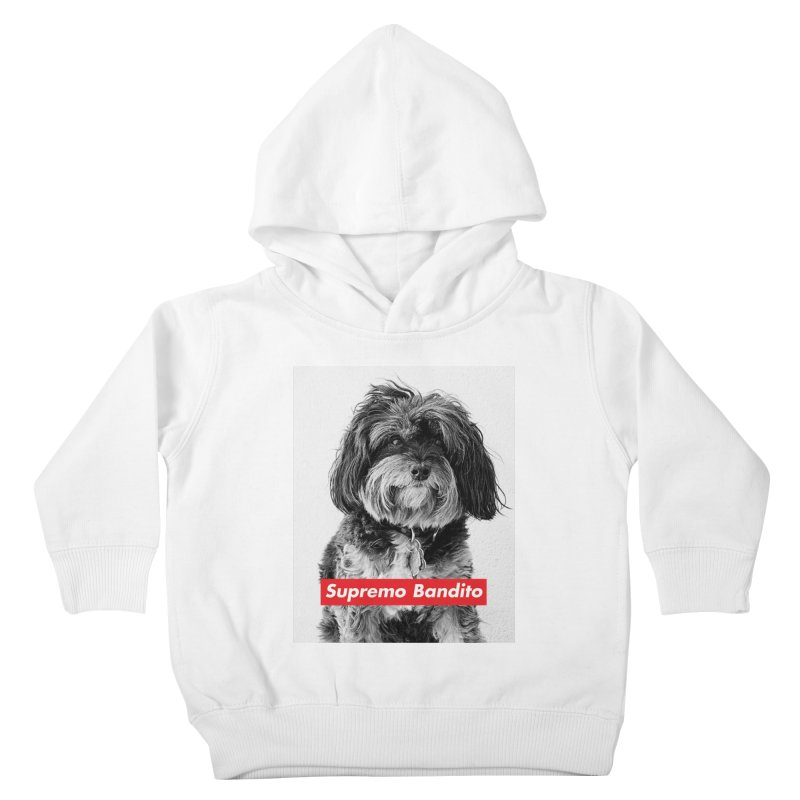 Supremo Bandito Kids Toddler Pullover Hoody by nikson's Artist Shop