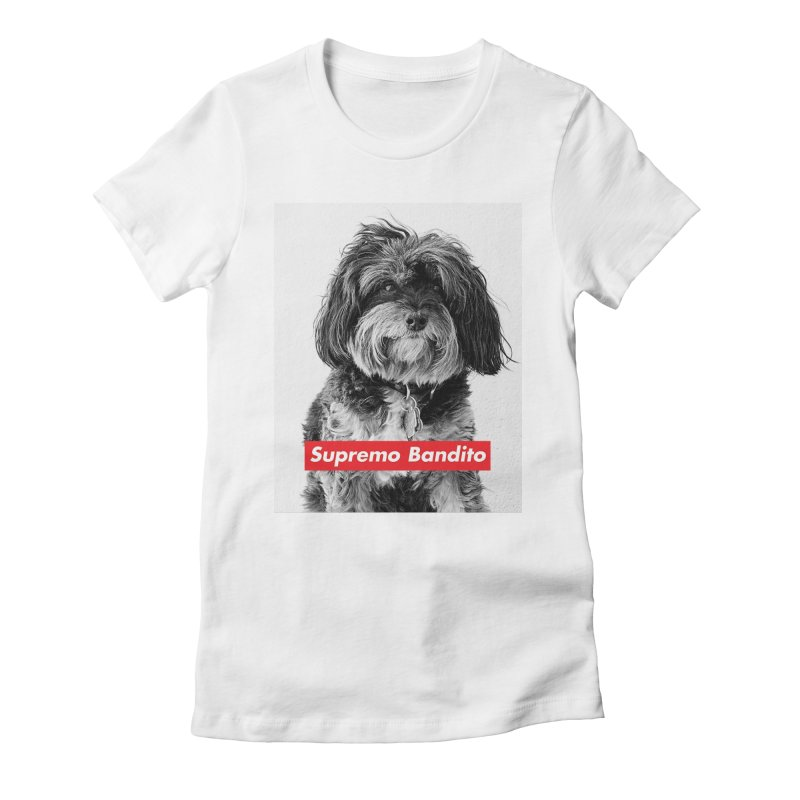 Supremo Bandito Women's Fitted T-Shirt by nikson's Artist Shop