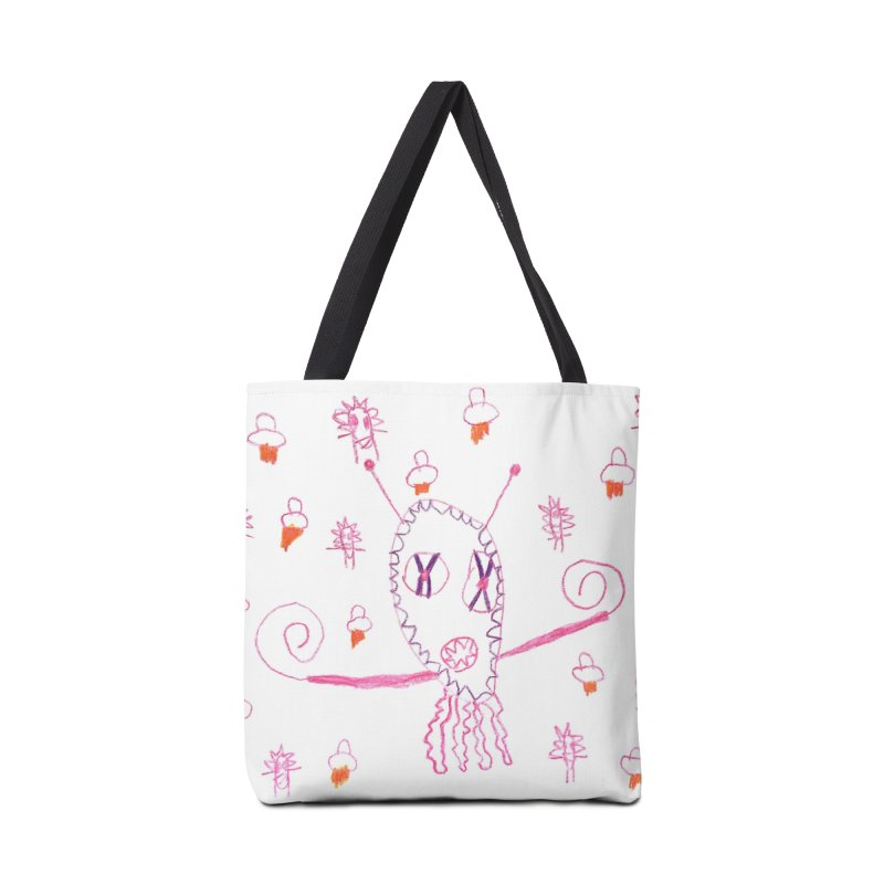 Aliens Attack! Accessories Bag by nikson's Artist Shop