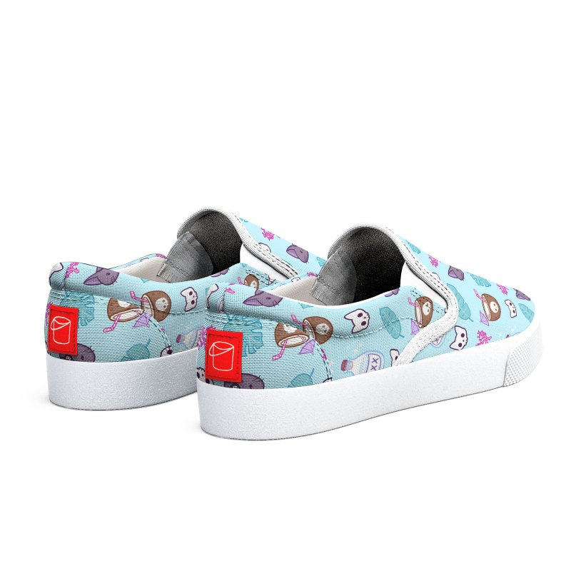 Pirate Cat // Turquoise | Nikury Women's Shoes by Nikury