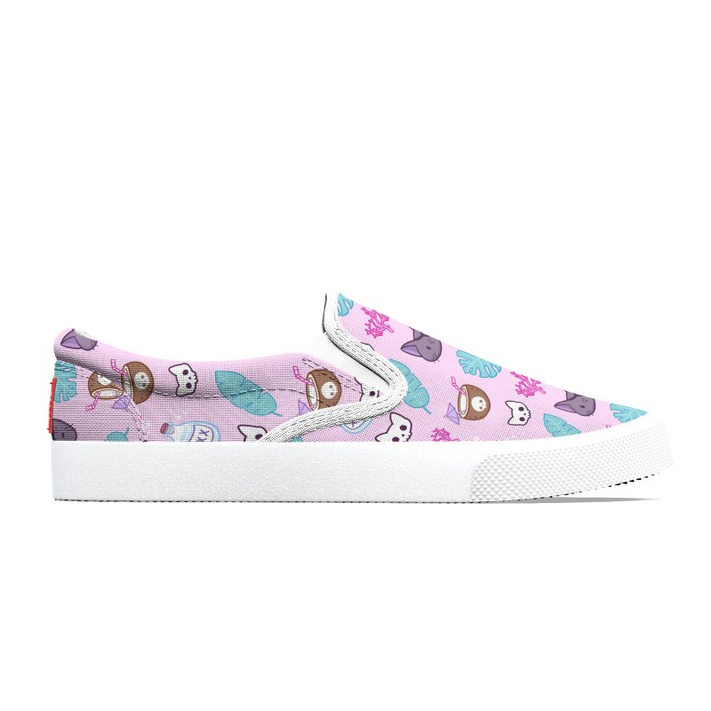 Pirate Cat // Pink | Nikury Women's Shoes by Nikury