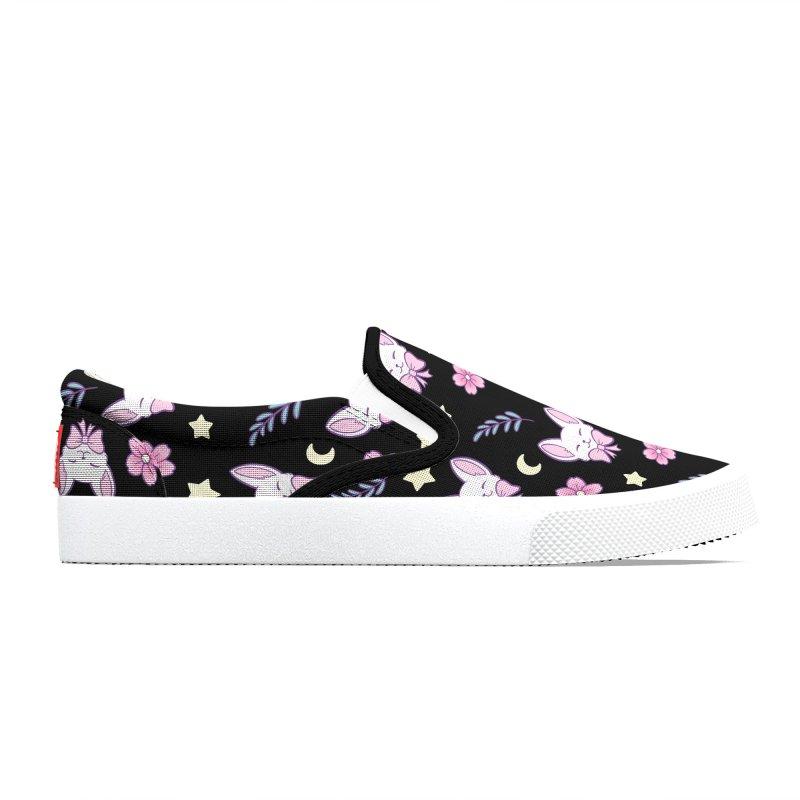 Sakura Cat  | Nikury Men's Shoes by Nikury
