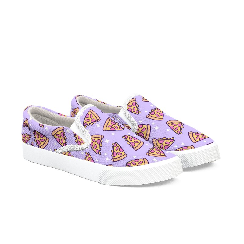 Pizza Magic Women's Slip-On Shoes by Nikury Shop