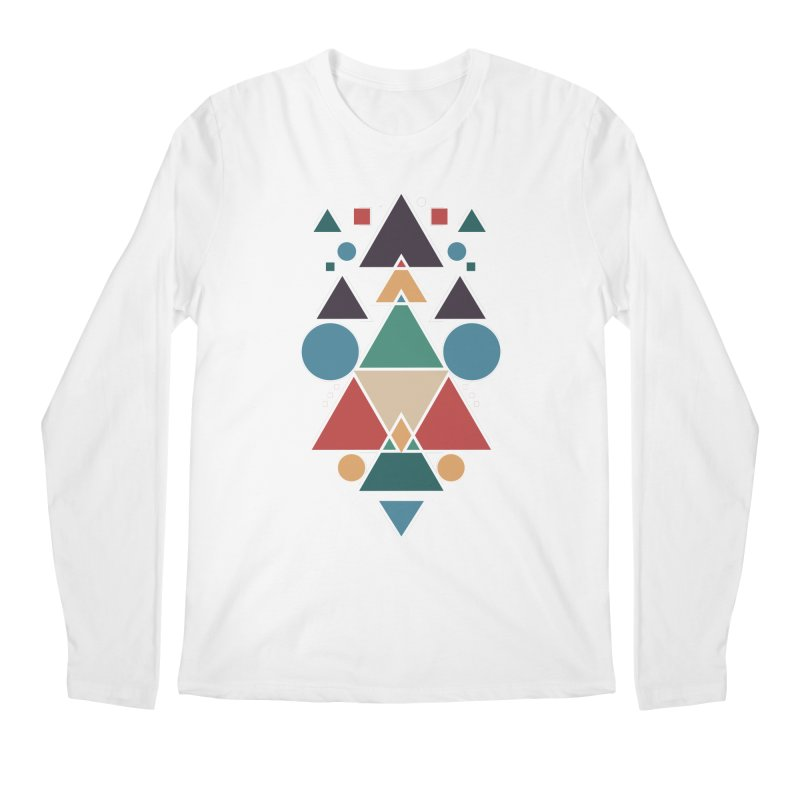 Symmetric Angle Men's Longsleeve T-Shirt by nils285's Artist Shop