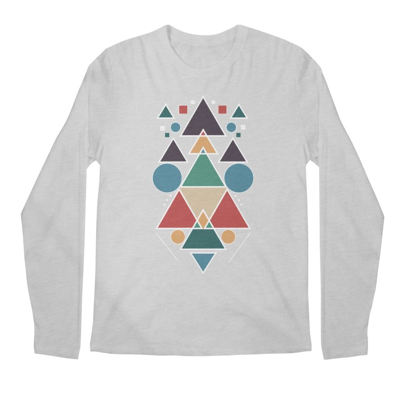 Symmetric Angle Men's Longsleeve T-Shirt by nils285's Artist Shop