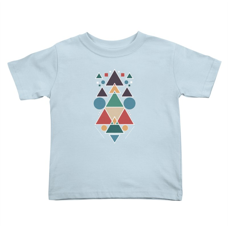 Symmetric Angle Kids Toddler T-Shirt by nils285's Artist Shop