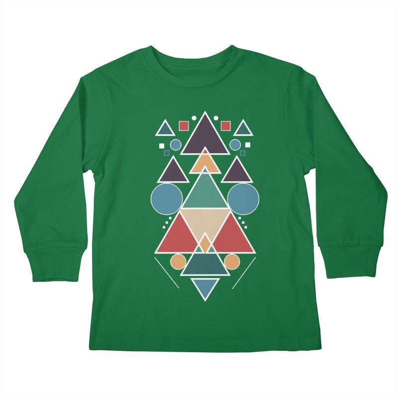 Symmetric Angle Kids Longsleeve T-Shirt by nils285's Artist Shop