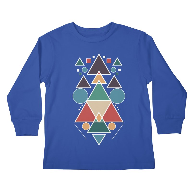 Symmetric Angle Kids Longsleeve T-Shirt by nils285's Artist Shop