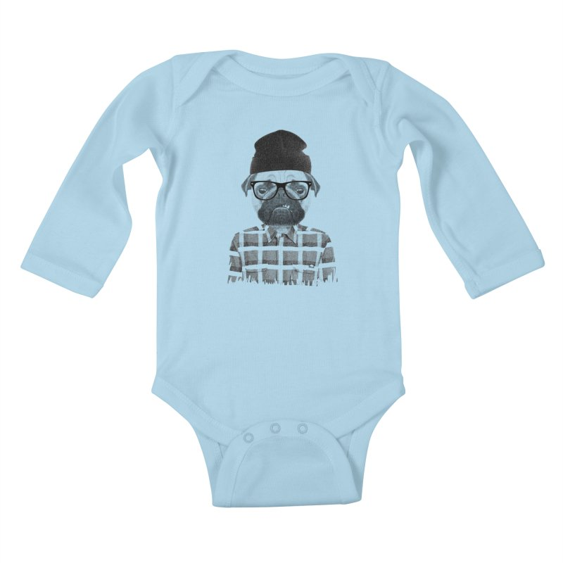 #doggydog Kids Baby Longsleeve Bodysuit by nils285's Artist Shop