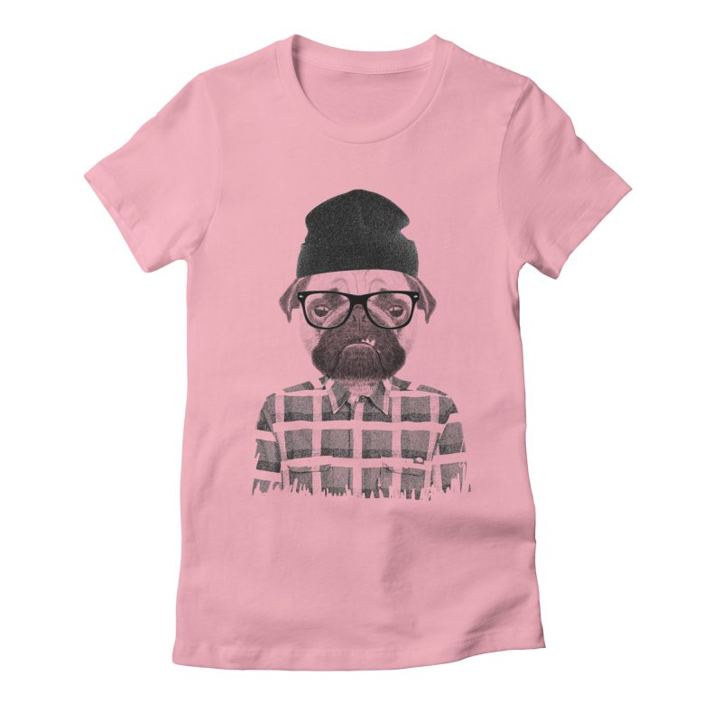 #doggydog Women's Fitted T-Shirt by nils285's Artist Shop