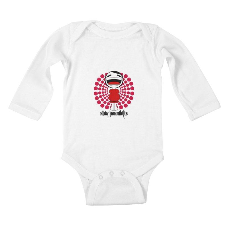 nina horribilis Kids Baby Longsleeve Bodysuit by nina horribilis