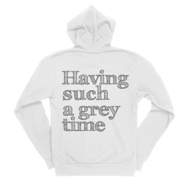 Having such a grey time Men's Zip-Up Hoody by nina horribilis