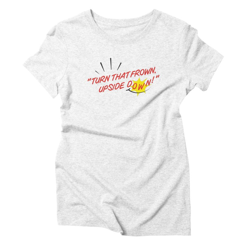 Smile Women's Triblend T-shirt by Nina's World!