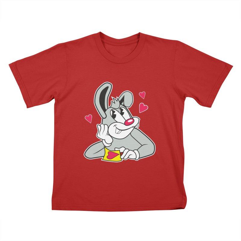 Lucky Bunny Kids T-shirt by Nina's World!