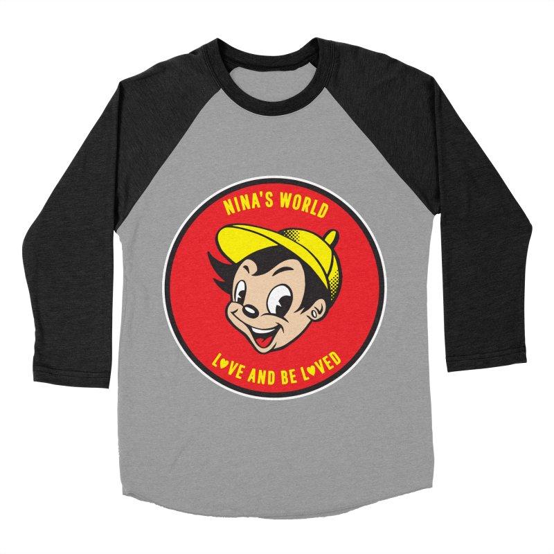 Love and Be Loved Men's Baseball Triblend Longsleeve T-Shirt by Nina's World