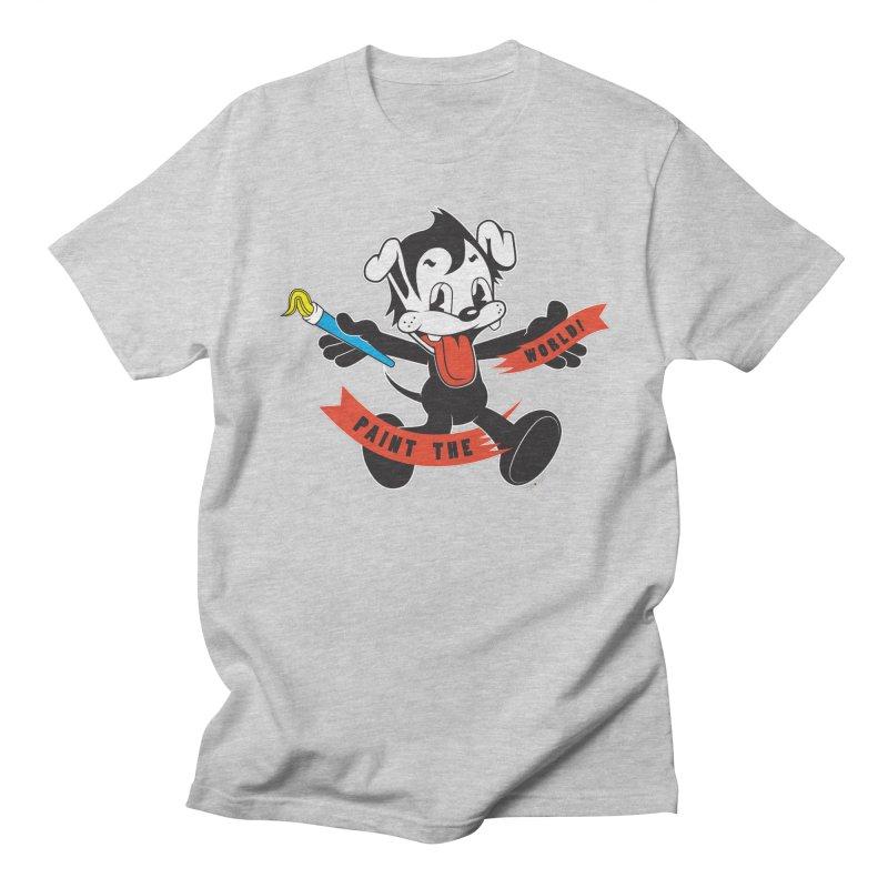 Paint The World Men's Regular T-Shirt by Nina's World!