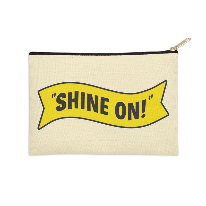 Shine On Banner Accessories Zip Pouch by Nina's World