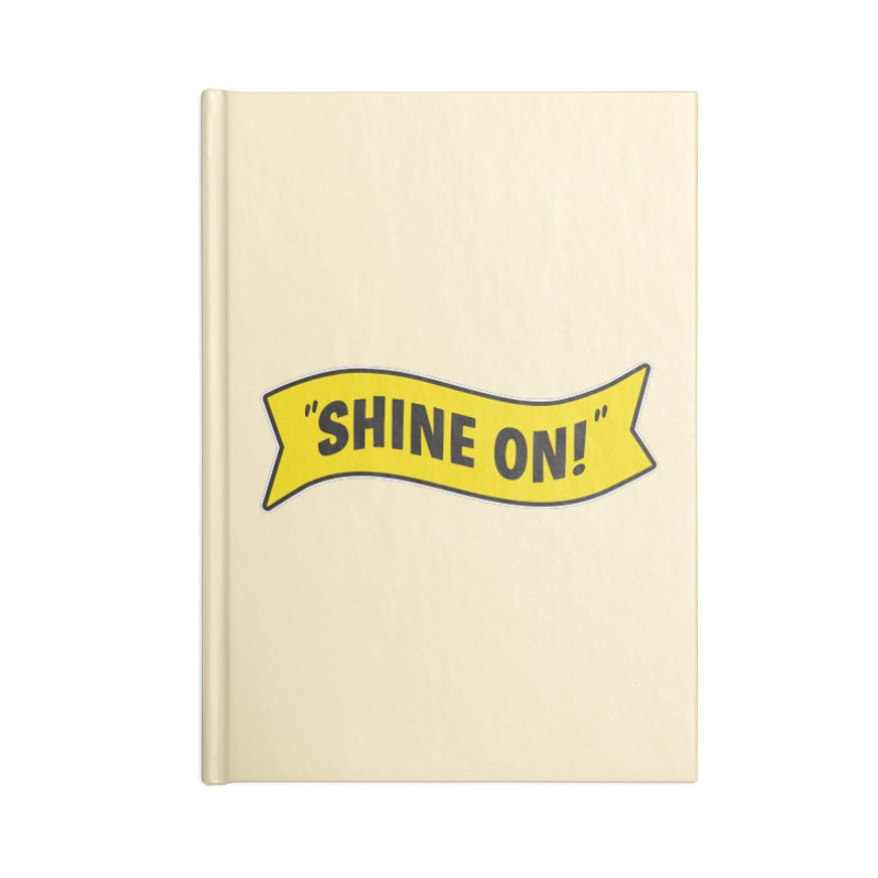 Shine On Banner Accessories Notebook by Nina's World!