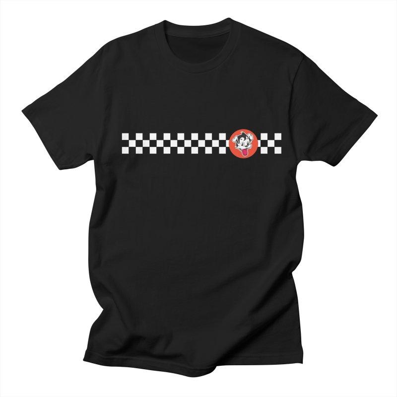 Ska Pug in Men's Regular T-Shirt Black by Nina's World!