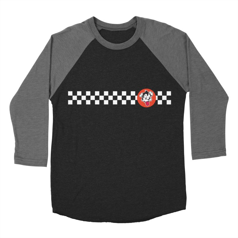 Ska Pug Women's Baseball Triblend T-Shirt by Nina's World!