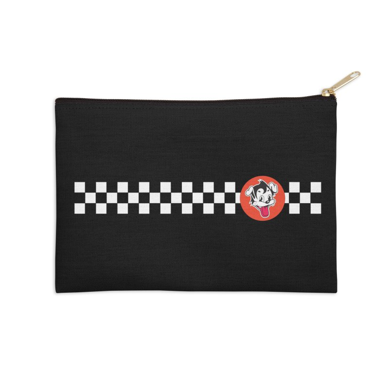 Ska Pug Accessories Zip Pouch by Nina's World!