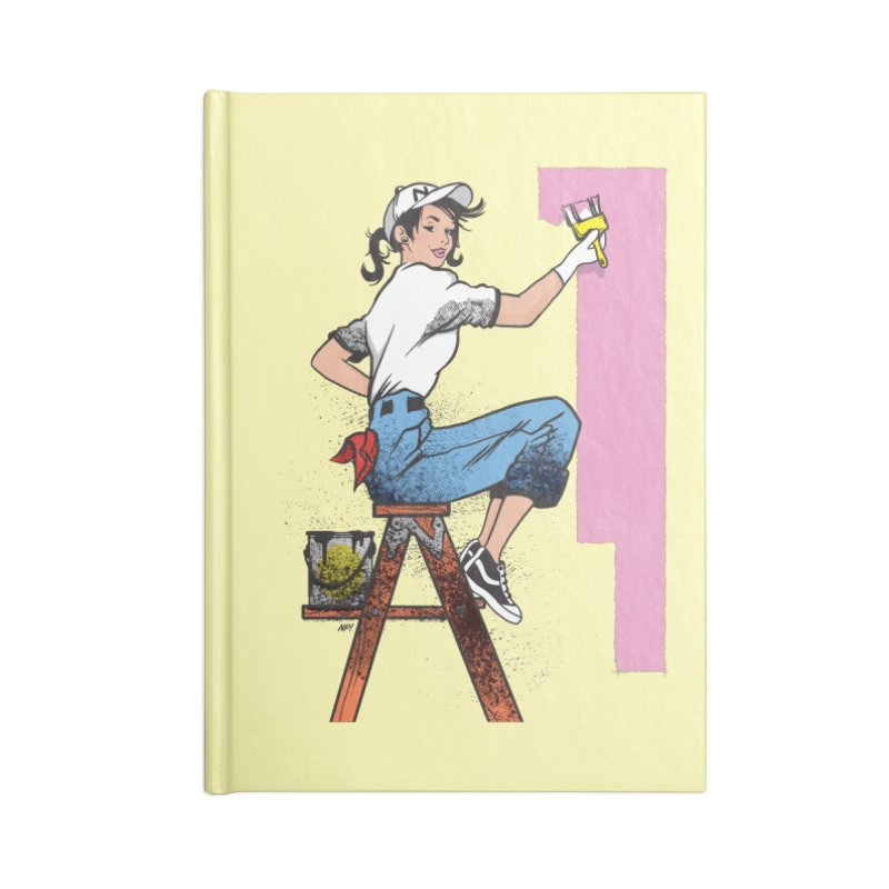 Lady Paint Accessories Notebook by Nina's World!