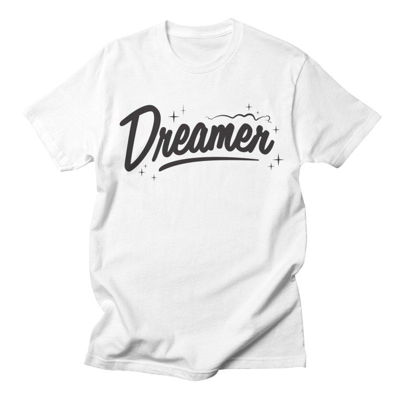 Dreamer in Men's Regular T-Shirt White by Nina's World!