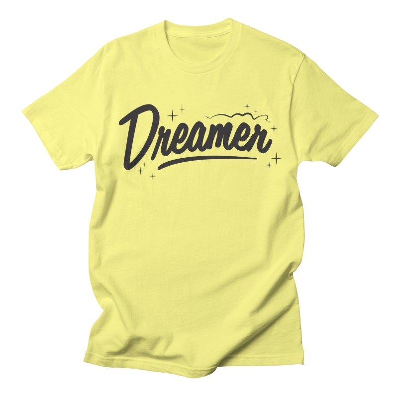 Dreamer Men's Regular T-Shirt by Nina's World!
