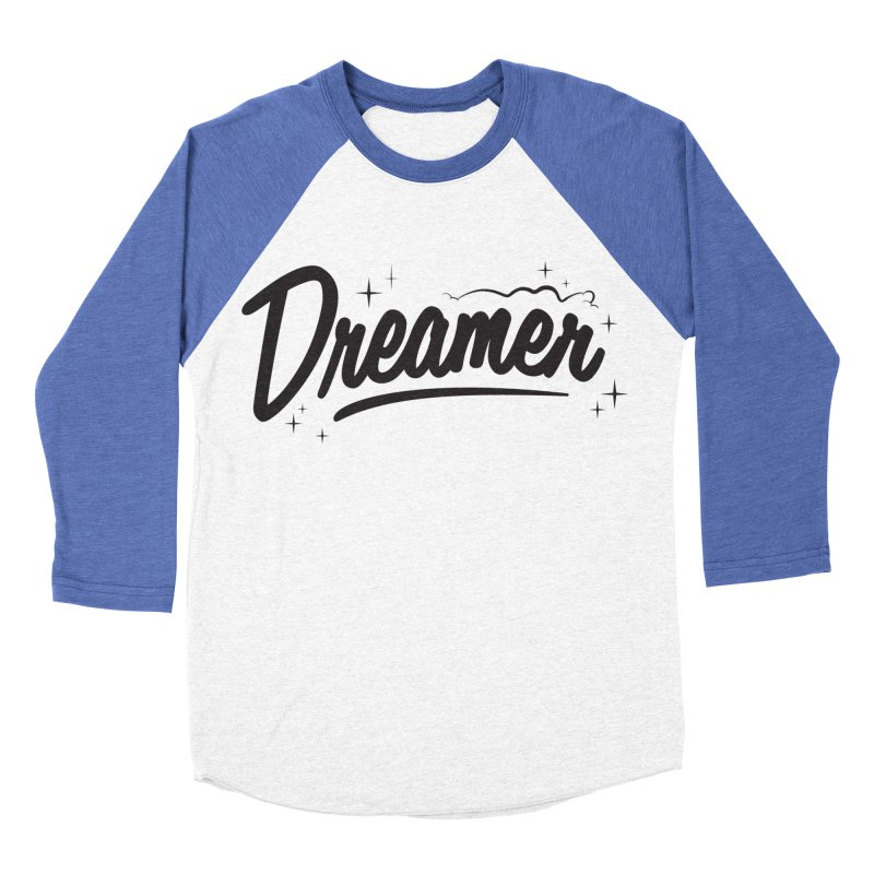 Dreamer Women's Baseball Triblend Longsleeve T-Shirt by Nina's World!