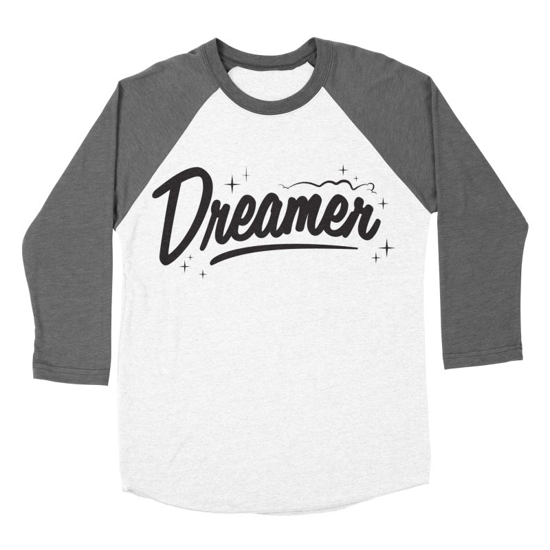 Dreamer Men's Baseball Triblend Longsleeve T-Shirt by Nina's World