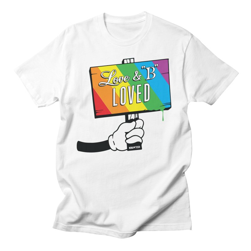 Love & B Loved - Happy Pride Men's T-shirt by Nina's World!