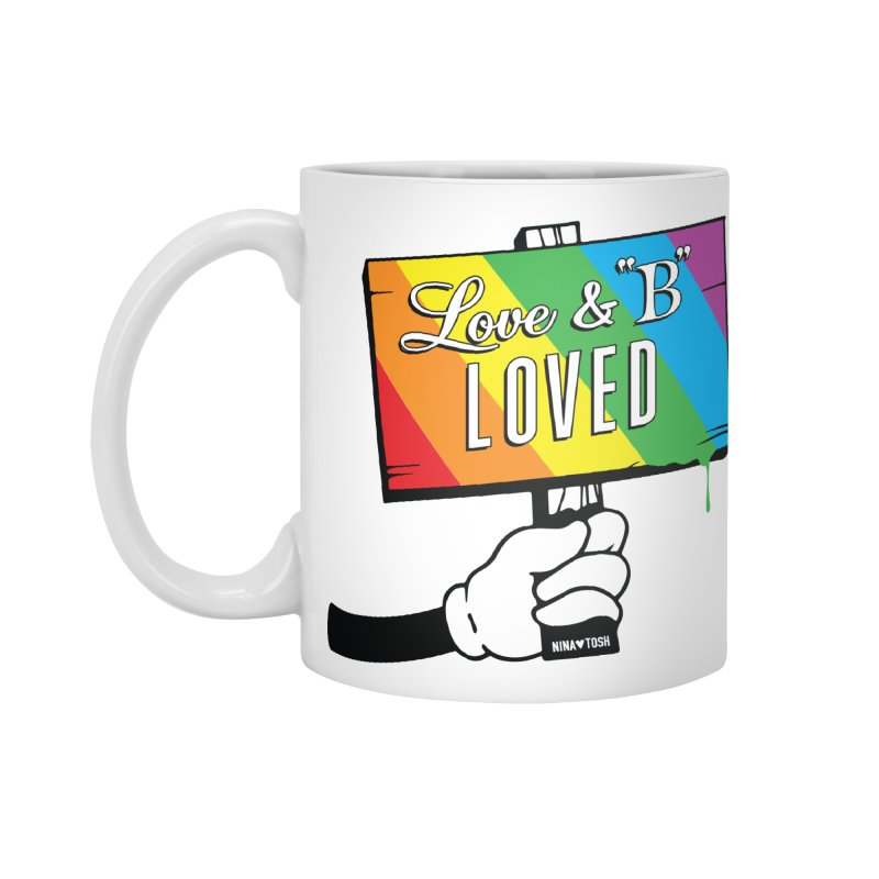 Love & B Loved - Happy Pride Accessories Mug by Nina's World!