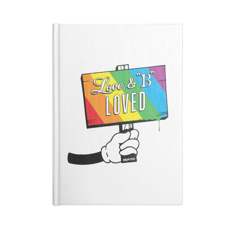 Love & B Loved - Happy Pride Accessories Notebook by Nina's World!