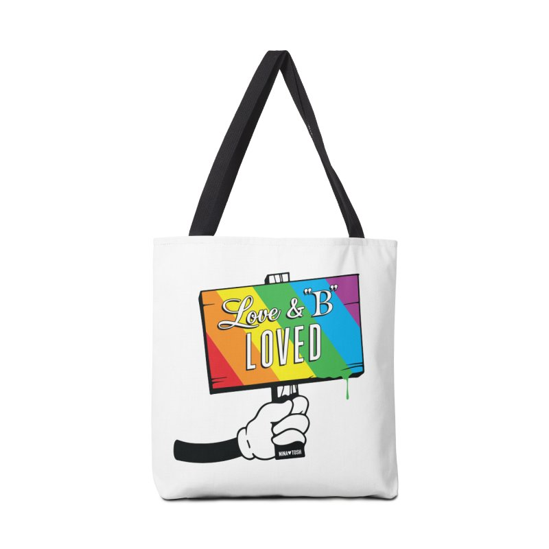 Love & B Loved - Happy Pride Accessories Bag by Nina's World!