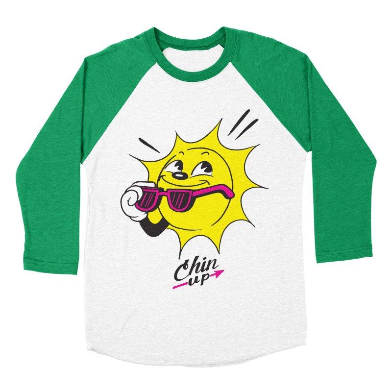 Chin Up! Women's Baseball Triblend T-Shirt by Nina's World!