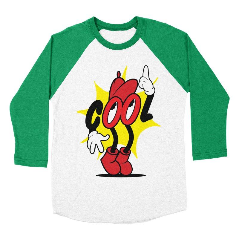 COOL! Dude. Men's Baseball Triblend Longsleeve T-Shirt by Nina's World