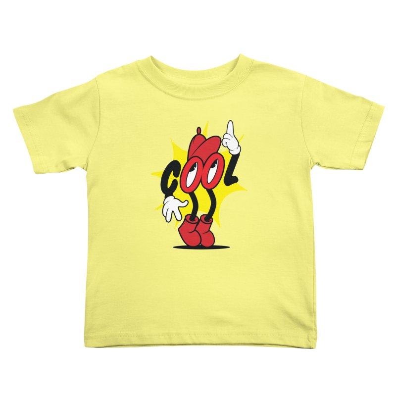 COOL! Dude. Kids Toddler T-Shirt by Nina's World!