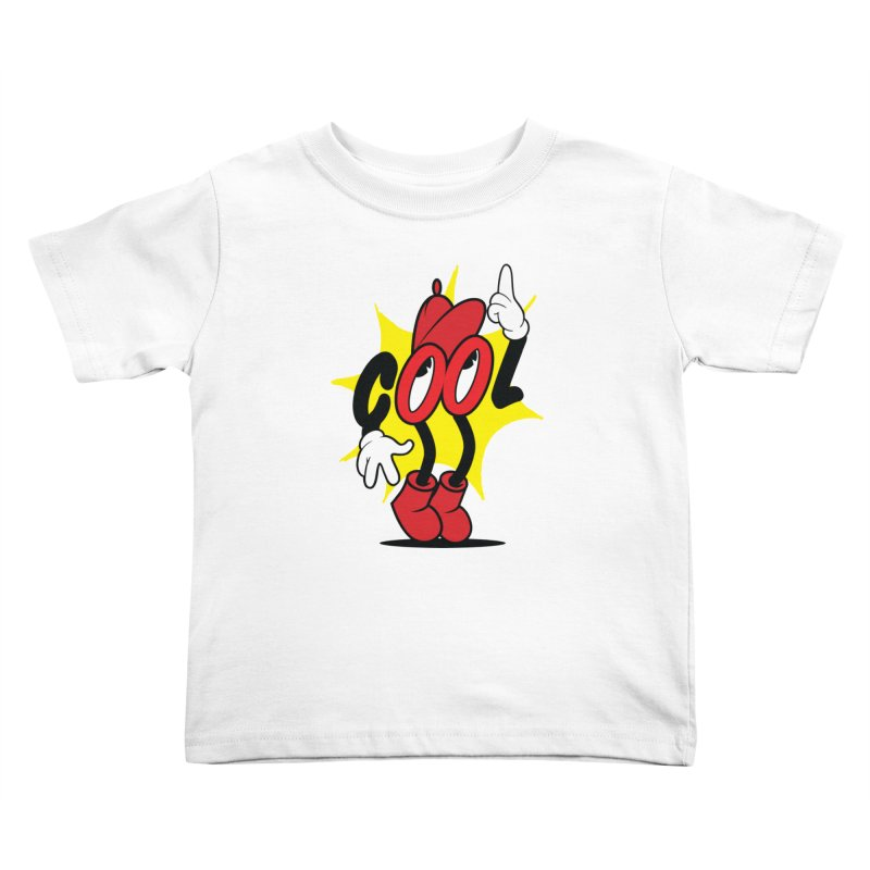 COOL! Dude. Kids Toddler T-Shirt by Nina's World!