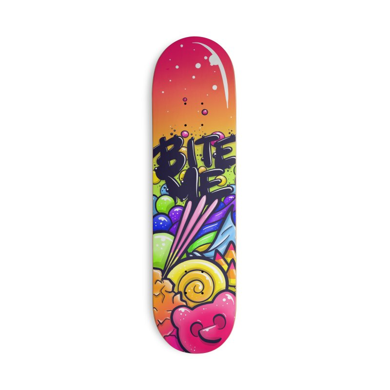 Sour Candy - Bite Me board Accessories Skateboard by Nine of Spades's Artist Shop