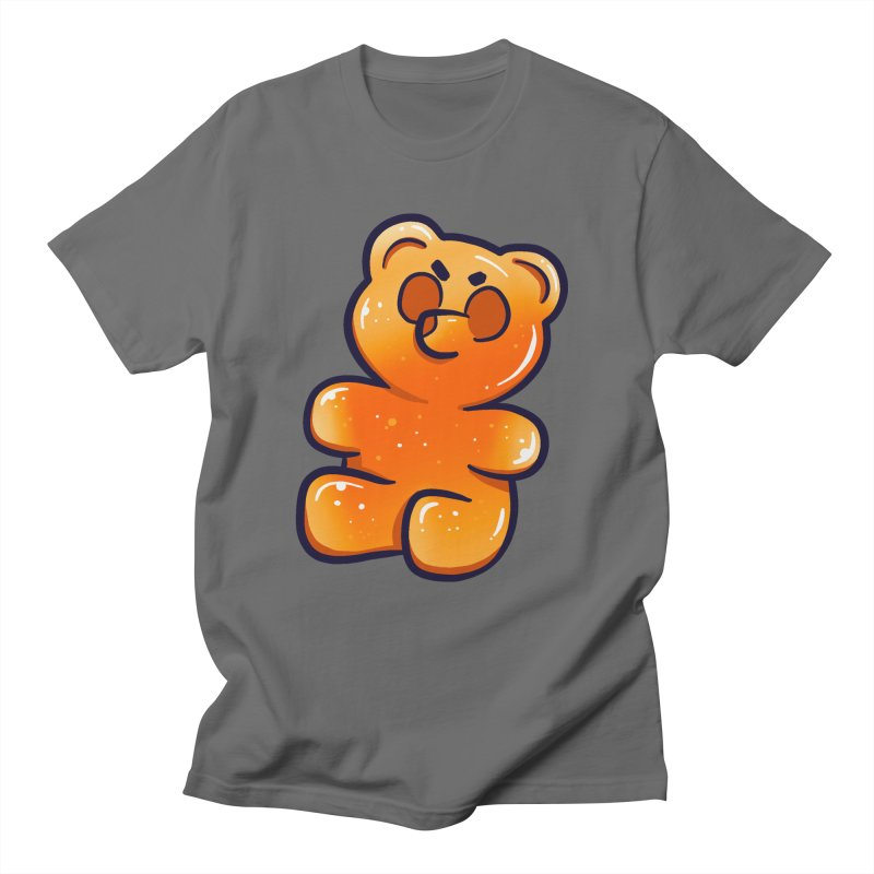 Sour Candy - Angry Gummy Men's T-Shirt by Nine of Spades's Artist Shop