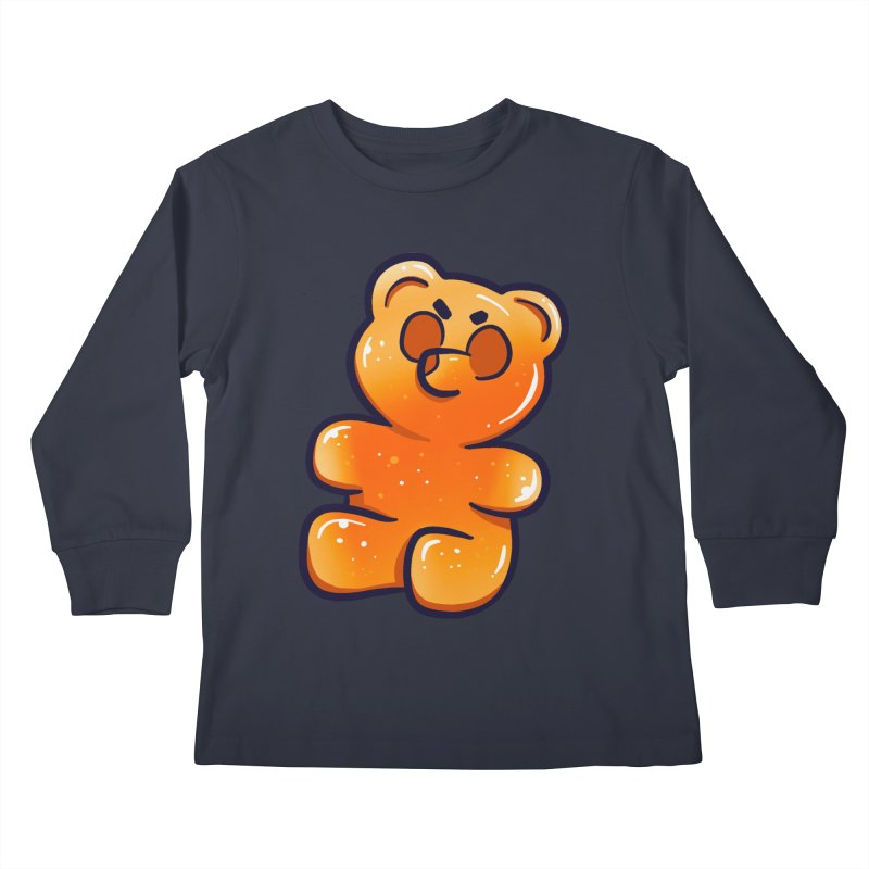 Sour Candy - Angry Gummy Kids Longsleeve T-Shirt by Nine of Spades's Artist Shop