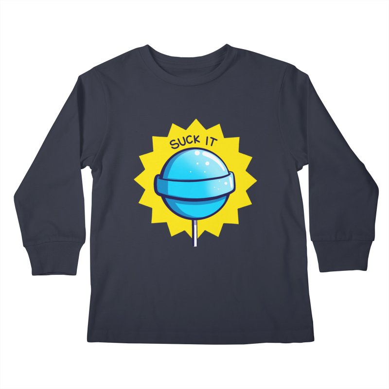 Sour Candy - Suck It Kids Longsleeve T-Shirt by Nine of Spades's Artist Shop
