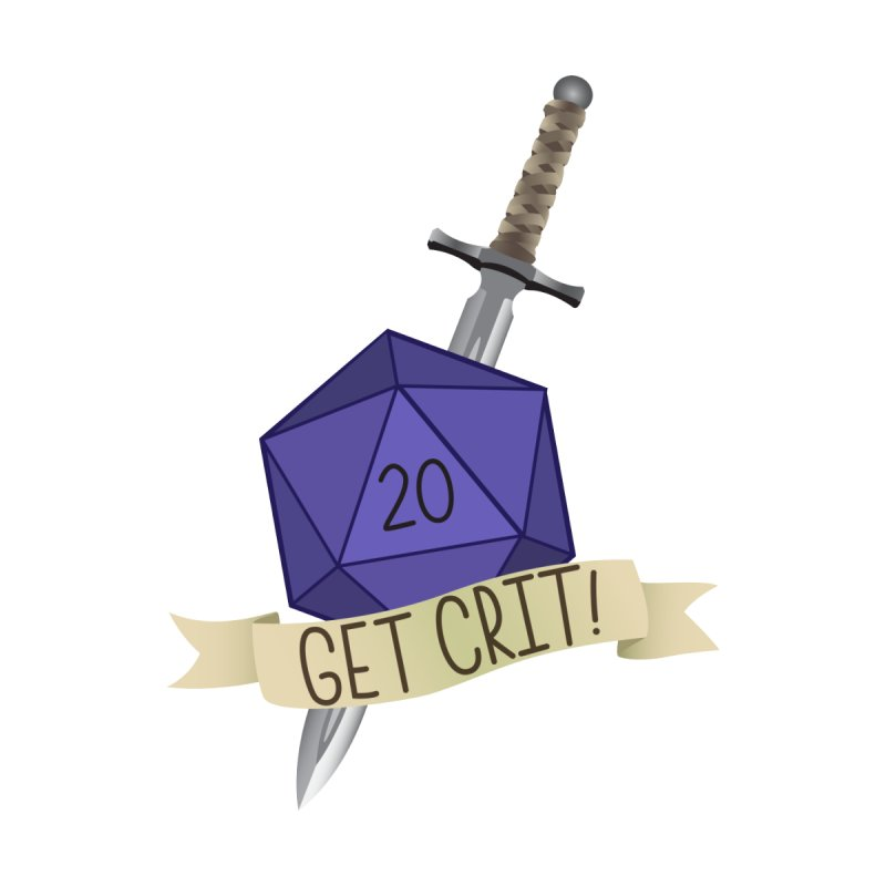 Get Crit! Men's T-Shirt by Nine of Spades's Artist Shop