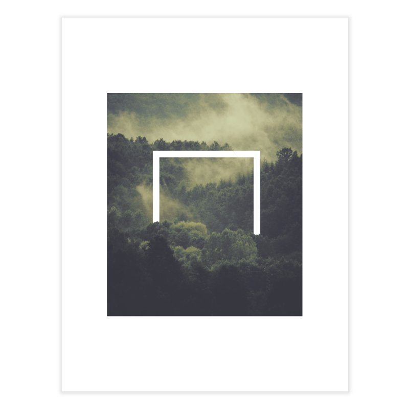Forest Home Fine Art Print by ninetothree