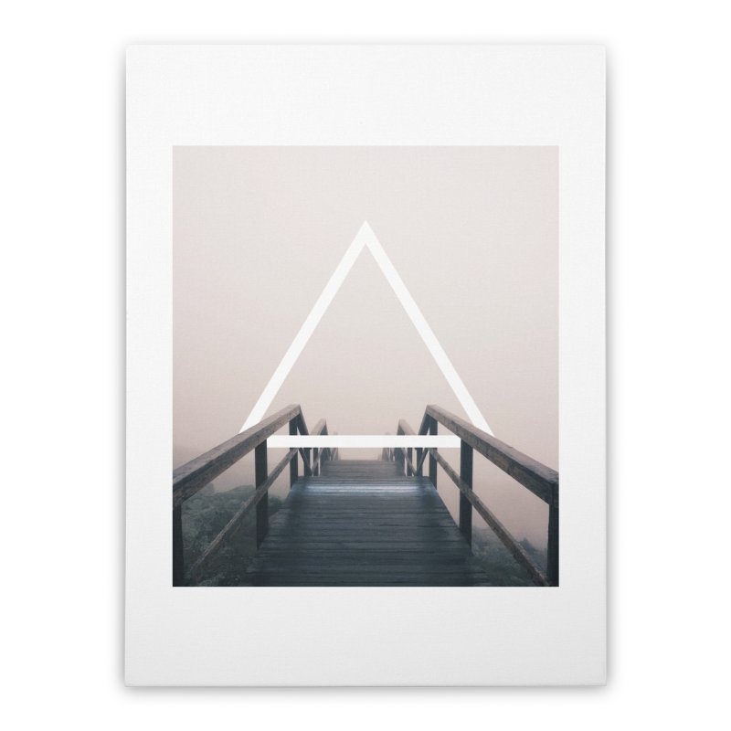 Stairs Home Stretched Canvas by ninetothree