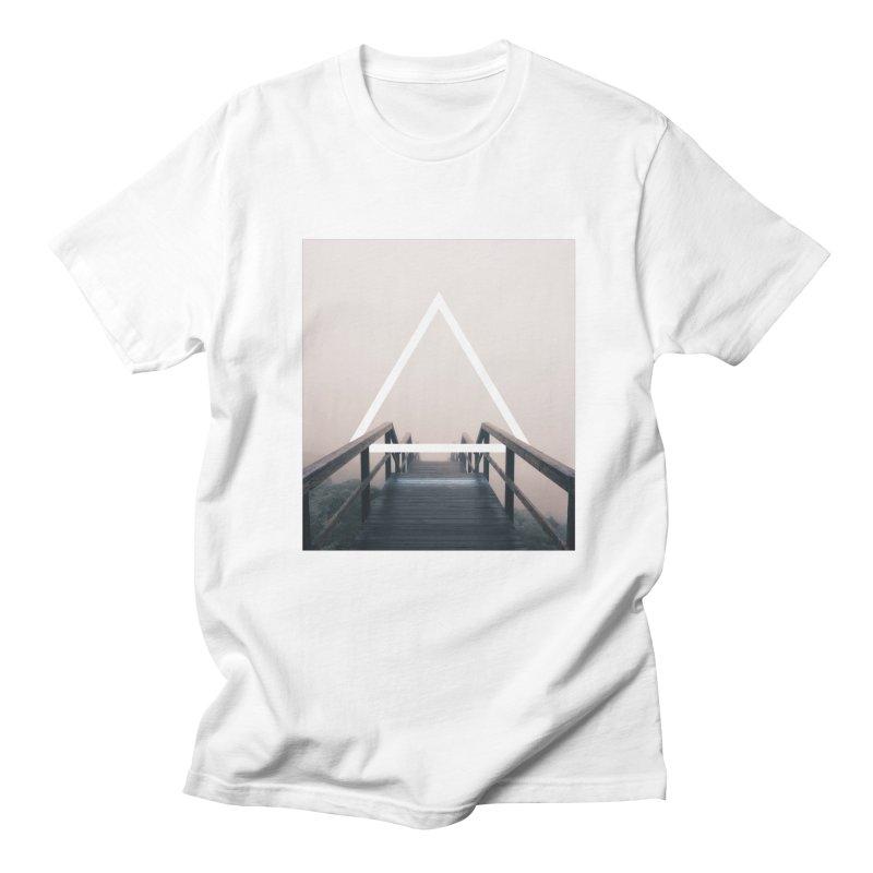 Stairs Men's Regular T-Shirt by ninetothree