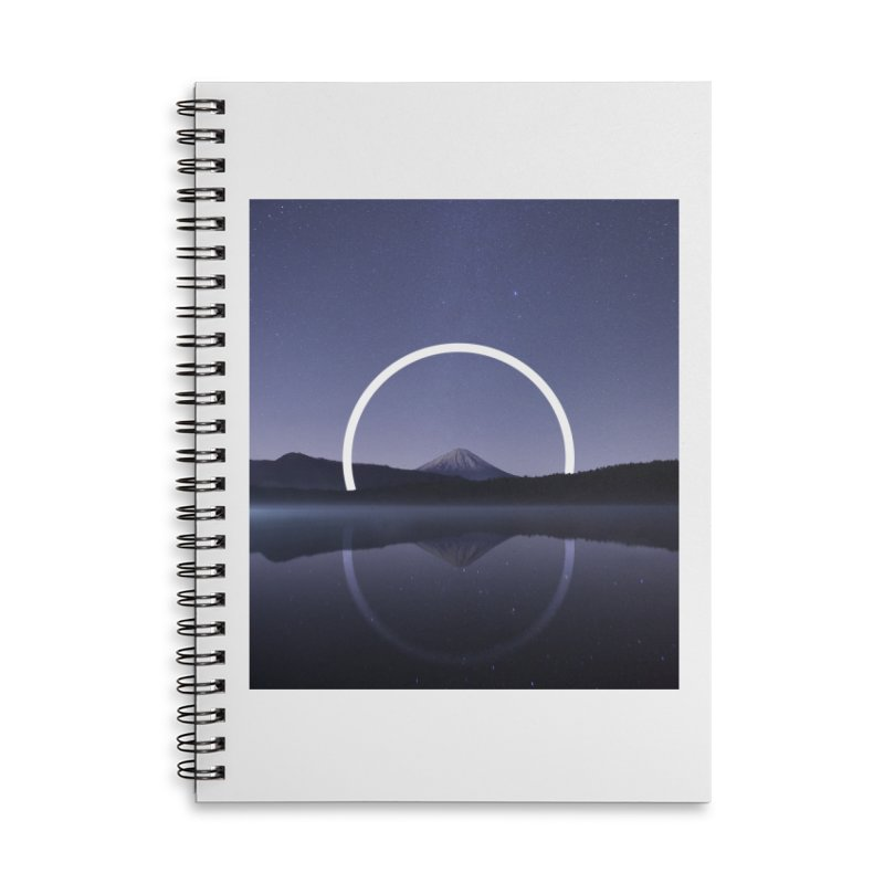 Reflection Accessories Lined Spiral Notebook by ninetothree