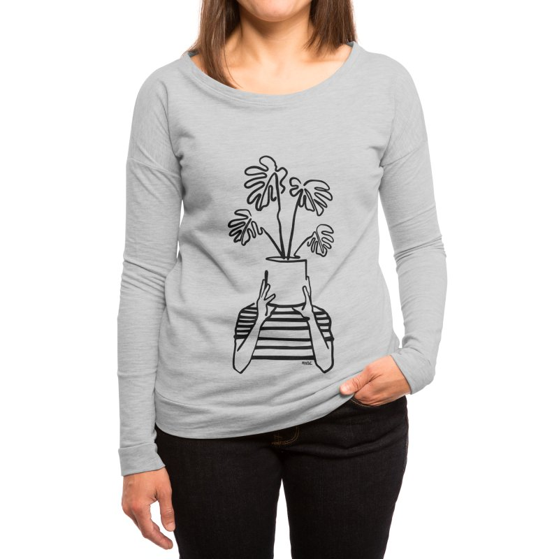Mood Plants Women's Longsleeve T-Shirt by ninhol's Shop