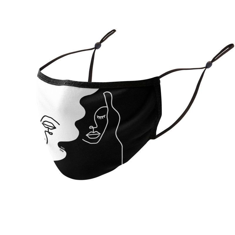 Dual Accessories Face Mask by ninhol's Shop